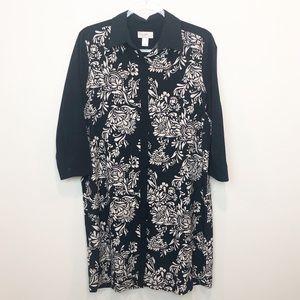 LOFT Shirt Dress | Paisley Button Down